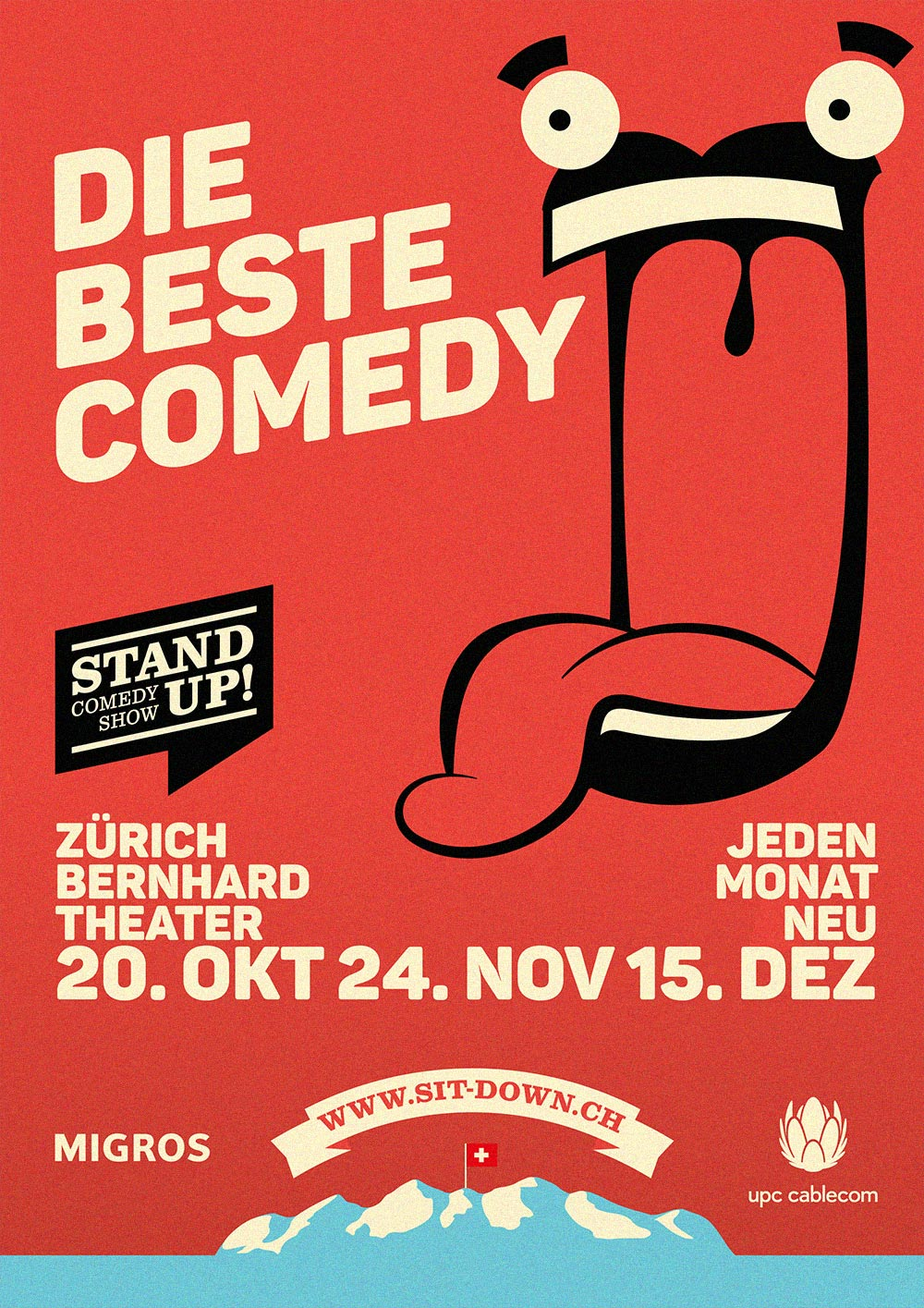 Stand Up! Comedy Show Draft 2016